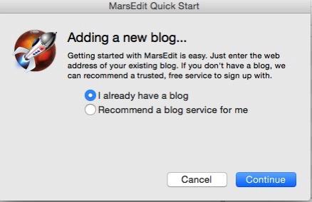 MarsEditブログ持ってる?