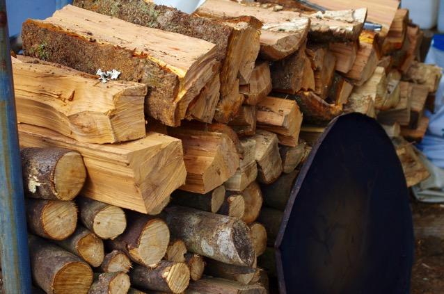 川根おやじ農園の薪