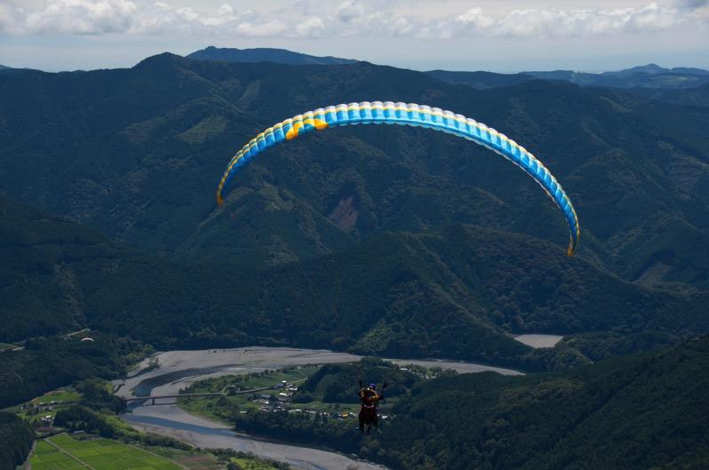 160828 七曲パラグライダー体験飛行 016
