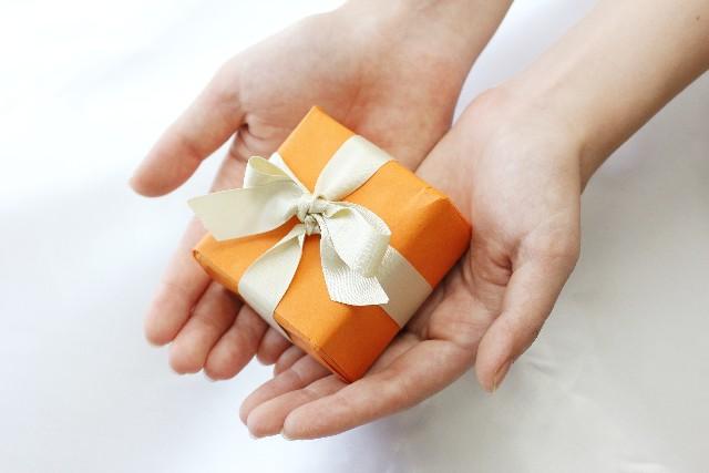 アナログで贈り物